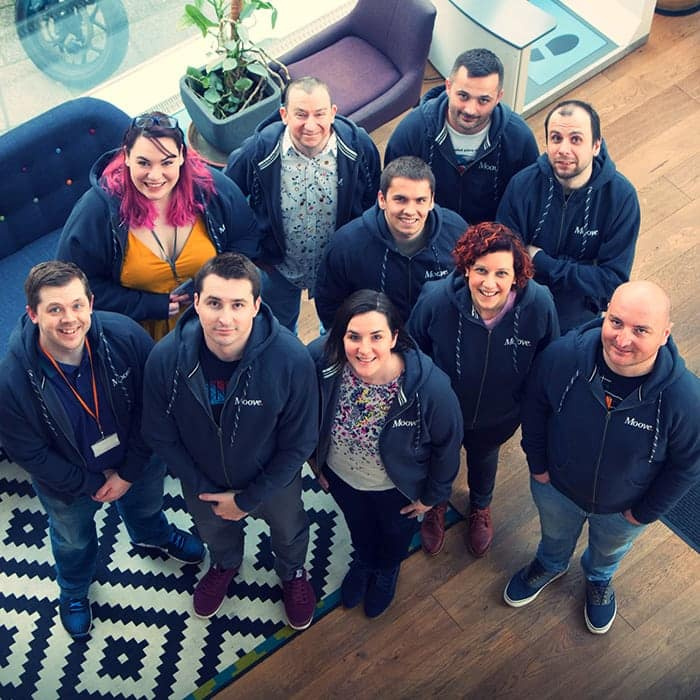 The Moove Agency team - we're passionate about delivering success