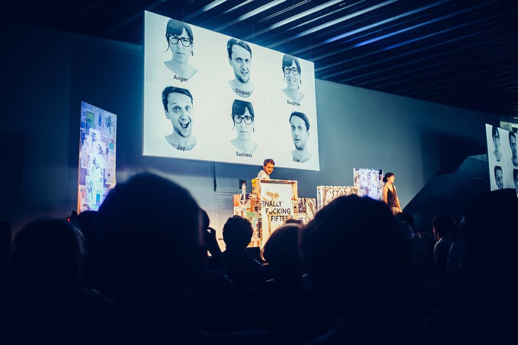 The other talk that I found very inspiring was from Anton and Irene. The creative duo talked about the journey of building their shiny fresh new agency.